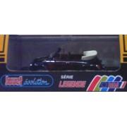 Jouef 1025 1978 Vw Beetle 1303 Convertible Black Legend Series 1:43 Scale Diecast