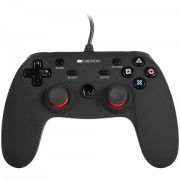 GamePad, CANYON CND-GP5, hand-cooling, vibration feedback, tigger and rubberized surface, compatible with PC, PS4