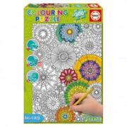 Educa Virágok színezhető puzzle, 300 darabos