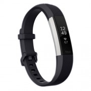 For Fitbit Alta Smart Watch Silicone Watchband Length: about 23.8cm(Black)