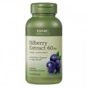 Herbal Plus Bilberry, 100 capsule, GNC