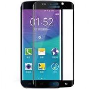 GADGETWORLD Luxury Full Edge to Edge Tempered Glass for Samsung Galaxy S6 Edge Plus (Black)