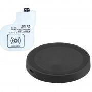 Callstel Induktions-Ladeset Qi-kompatibel + Receiver-Pad für Samsung Galaxy S4