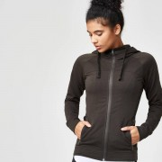 Myprotein Superlite Zip-Up Hoodie - XL - Kaki
