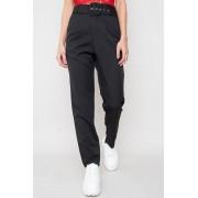 JFR High Waist Belted Trousers - Chiara Black