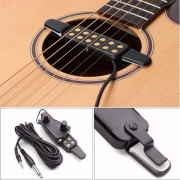 Acoustic Guitar Sound Pickup Amplifier 12 Holes with Tone Volume Control