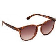 Joe Black Round Sunglasses(Brown)