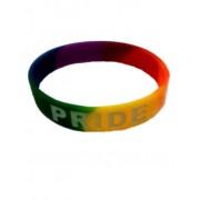 DBE Pride Silicone Armband Rainbow