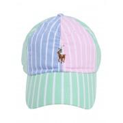 POLO RALPH LAUREN Cap 'CLASSIC SPORT CAP W/ SMALL PP' rosa / hellgrün / hellblau 55-60