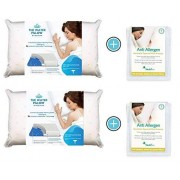 Mediflow Water Pillow Memory Foam Re-Invented with Waterbase Technology-Clinically Proven to Reduce Pain and Improve Sleep Quality. Perfect for Those