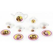 Set de servit ceaiul din portelan Smoby Masha and The Bear