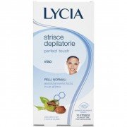 Lycia perfect touch viso 20 strisce depilatorie