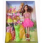 Jojoss Pretty Girl Doll Toys Fashion Accessories for Multicolor