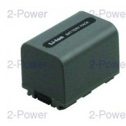 2-Power Videokamera Batteri Sony 7.2v 1400mAh (NP-FP70)