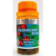 Cranberry Star 60 db, Tőzegáfonyával és C-vitaminnal - StarLife