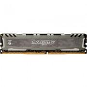 Crucial DRAM 8GB DDR4 2666 MT/s (PC4-21300) CL16 SR x8 Unbuffered DIMM 288pin Ballistix Sport LT DDR 4 UDIMM - Grey, EAN: 649528