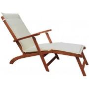 Giardino Guidetti chaise longue Porto in legno