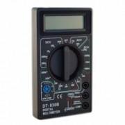 Multimetru afisaj LCD digital aparat masura 19 scale 2 testere negru