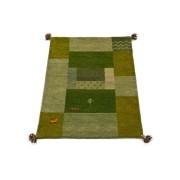 【68%OFF】ギャベ ラグ G グリーン 60x90 インテリア・家具 > 敷物~~ラグ