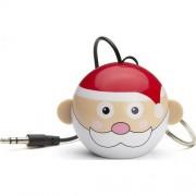 Boxa portabila Trendz Mini Buddy Father Christmas, Alb/Rosu