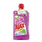 Detergent Universal de Pardoseli AJAX Lilac Breeze, Cantitate 1 Litru, Parfum de Liliac, Detergent Lichid pentru Pardoseli, Solutie pentru Podea, Detergent Lichid Ajax, Solutie Universala de Curatat, Produse de Curatenie
