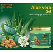 Indus Valley Bio Organic Hair Reborn Aloe Vera Gel With Bhringraj And Walnut Oil For Ultimate Hair Management-175Ml