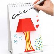 Notebook-lampa