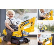 Dispense Solutions Mcr Ltd £21.99 instead of £44 for a children's ride on digger set with hard hat from AllKindaThings - save 50%