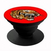 Homeeware Tiger Phone holder Mobile Holder Plastic Red