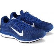 Nike ZOOM WINFLO 5 Running Shoes For Men(Blue)