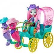 Енчантималс - Комплект кукла с каляска и морски кончета, 1711534