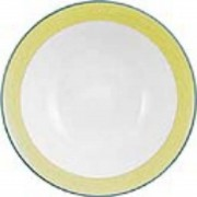 Steelite Rio Yellow Oatmeal Bowls 165mm (Pack of 36)