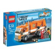 Lego (LEGO) City garbage truck ?7991? [Parallel import goods]