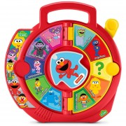 Elmo Ruleta Interactiva Observa Y Aprende Plaza Sesamo Fisher Price