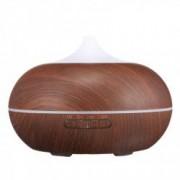 Umidificator Optimus AT Home TM 1704 cu ultrasunete aromaterapie 25-30m purificator aer difuzor rezervor 300ml dark wood