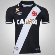 Umbro Camisa do Vasco da Gama I 2017 Umbro - Masculina - PRETO/BRANCO