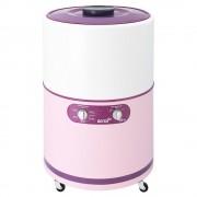 lavadora redonda acros alf2053er 20kg rosa con blanco