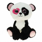 Geen Pandabeer pluche knuffel zittend 30 cm