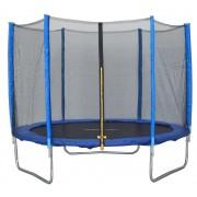 Capetan® Exit 244cm átm védőhálós trambulin - kisgyermekekre optimalizált alacsony ugrálófelületmag