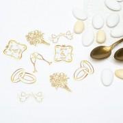 Confeti aurii pentru nunta- 14 gr , Radar 51035