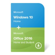 Windows 10 Home + Office 2019 Home and Student certificat electronic