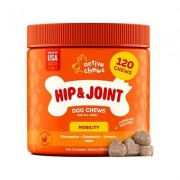 Active Chews Advanced Hip & Joint Support Dog Supplement, 120 count