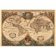 Puzzle Ravensburger - Harta Antica A Lumii , 5.000 piese (17411)