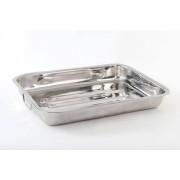 Tava cuptor 35 cm, Inox