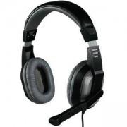 Слушалки с микрофон Offbeat стерео, средни наушници, HAMA-53983/57174
