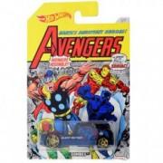 Masinuta metalica Black Panther Avengers Hot Wheels