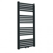 Designradiator Tower 182x60cm 1098 Watt Mat Antraciet Middenonderaansluiting