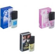 Skyedventures Set of 3 Blue Lady-Rose-Titanic Perfume