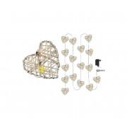 Lanț de crăciun LED HEART LED/1W/230V