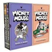 Walt Disney's Mickey Mouse Vols. 11 & 12 Gift Box Set, Hardcover